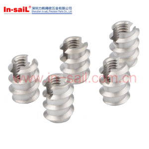 Twill-Lined Self-Tapping Slotted Implants Insert Nut pictures & photos