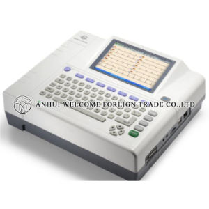 Intelligent 12 Channel ECG Machine Electrocardiograph pictures & photos