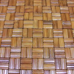 Block Bamboo Tablemat for Tabletop & Flooring pictures & photos