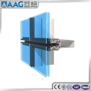 America Standarded Aluminum Curtain Wall/Aluminium Curtain Wall pictures & photos