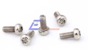 Hexalobular Socket Button Head Screw-Steel 8.8 Zinc Coated
