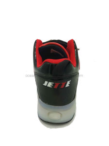 New Arrival Skating LED Kids Sports Shoes pictures & photos