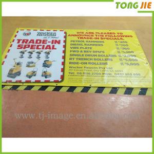 Use Inkjet Machine Printing PVC Frontlit Flex Banner pictures & photos