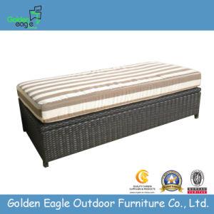 Outdoor Wicker Furniture-Cushion Seat Box (B0006)