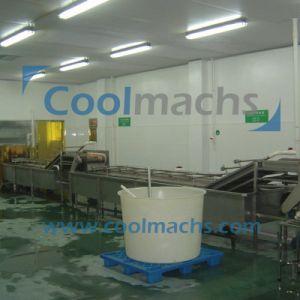 Seafood/Shrimp Quick Frozen Production Line/Shrimp IQF Line pictures & photos