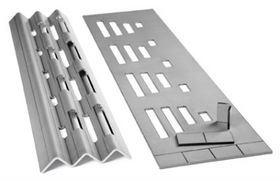 OEM Stamping Galvanized Sheet Metal Brackets Fabrication pictures & photos