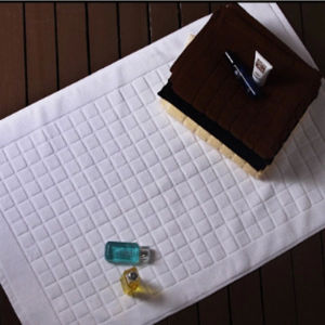 Anti-Slip Jacquard Bath Mat (DPFT80114) pictures & photos