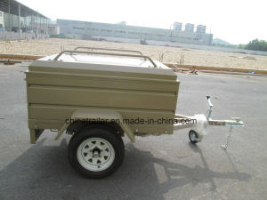 Black Box Trailer with Canopy pictures & photos