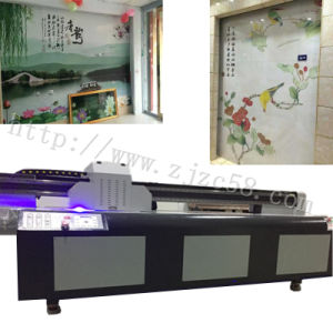 Ricoh-Gen5 Heads Large Format 3D Picture UV LED Flatbed Printer pictures & photos