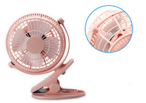 2 level wind speeding USB miniCharging fan with clamp -Black pictures & photos