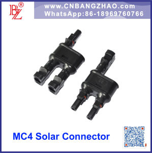IP67 Male and Female DC Connector Mc4 for Solar Panels pictures & photos