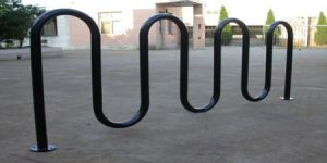 Heavy-Duty Challenger Wave Bike Rack 9 Space pictures & photos