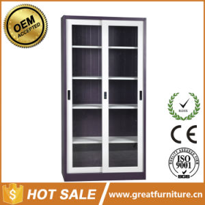 Glass Door Steel Used Medical Cabinets/Medicine Cupboard pictures & photos