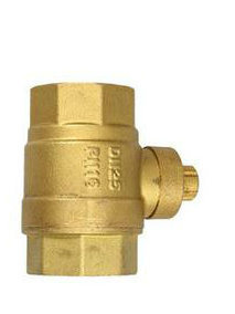 Best Selling Brass Lock Ball Valve pictures & photos