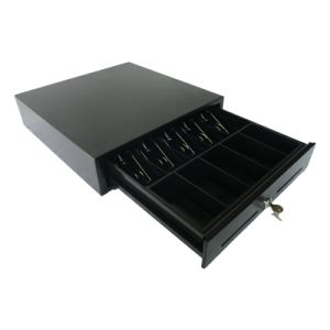 High Quality Cashier Cash Drawer Powder Coating POS Cash Box pictures & photos