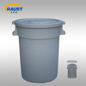 Large Plastic Garbage Bins/Round Garbage Drums Plastic pictures & photos