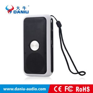 2016 Hot Selling Portable Bluetooth Speaker with Powerbank and Flashlight pictures & photos