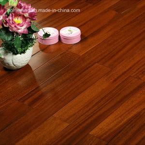 Okan Solid Wood Flooring/ Iroko Hardwood Flooring /Okan Wood Floor pictures & photos