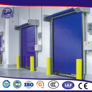 China Goods Wholesale Energy-Efficient Commercial PVC Doors pictures & photos