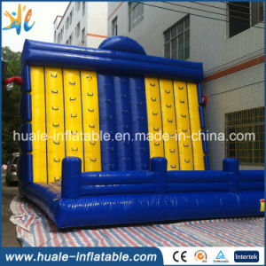2016 High Quality Hot Sale Commercial Giant Inflatable Rock Climbing Wall for Sale