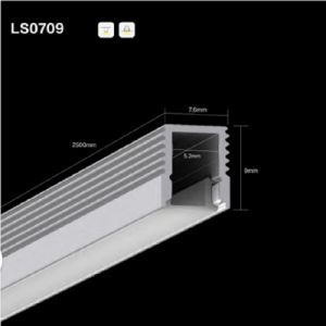 Ns0709 LED Linear Light Aluminium Profile/Channel/Extrusion for LED Strip pictures & photos