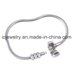 Stainless Steel Bracelet with Rubber Stopper Beads pictures & photos