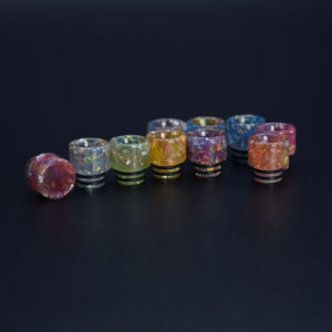 Vivismoke Wholesale Colorful Shining Resin Drip for 510 pictures & photos