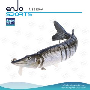 Multi Jointed Fishing Life-Like Lure Swimbait Deep Diving Fishing Tackle Plastic Fishing Lure pictures & photos