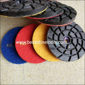 Metal Bond Diamond Polishing Pad with Velcro (CR26) pictures & photos