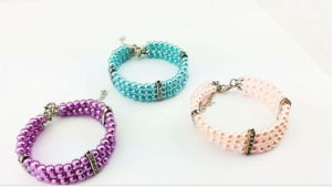 New Design Three Row Pearl Pet Necklace pictures & photos