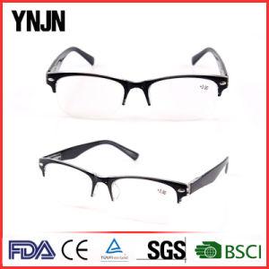 China Retro Black Half Frame Mens Reading Glasses (YJ-147) pictures & photos