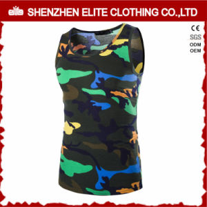 Custom Made Fashion Pink Camo Tank Top Sublimation (ELTVI-30) pictures & photos