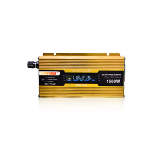 12V 24V 110V LCD Modified Wave Car Power Inverter pictures & photos