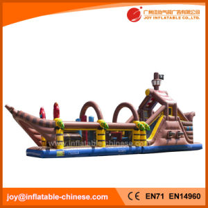 2017 Hot Sale Mega Ballcanon Gaint Inflatable Pirate Boat (T6-615) pictures & photos