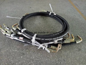 "High Pressure SAE 100 R2 at/DIN En853 2sn 5/16"" W. P 35MPa 3q16 for Rubber Hose pictures & photos"