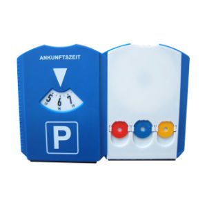 Promotional Ice Scraper with Parking Disk Plastic Car Parking Timer Disc pictures & photos