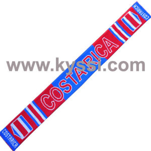Costa Rica National Scarf Countries Scarf Flag Scarf