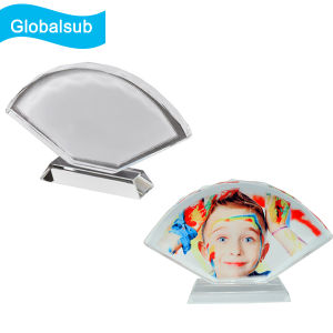 Fan-Shaped Screen Full Color Photo Printed Crystal pictures & photos