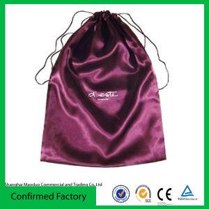 Duster Bag Satin Shinny Clutch Polyester Bag