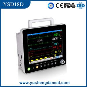 ECG NIBP Hospital Medical Equipment 15′′ Multi-Parameter Patient Monitor pictures & photos