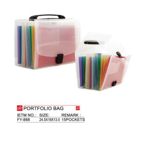 File Folderfile Folder Document Bag, File Holder, Button File Portfolio Bag - Fy-888