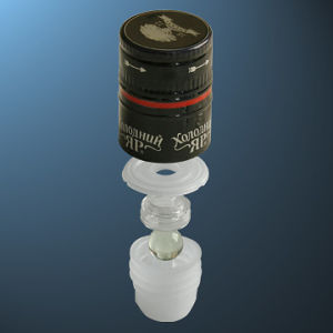 Bottle Caps with Porour (lpb001)