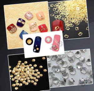 Nail Art Decoration Seashell Metal Color Nail Alloy Sticker Nail Beauty pictures & photos