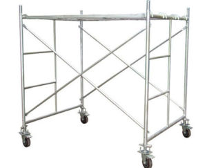 Powder Coated H Frame Traditional Construction Scaffolding pictures & photos