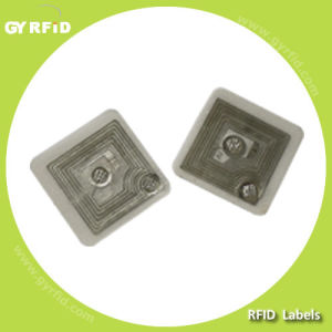 GYRFID Launches RFID Smallest Inlay and Paper Sticker 18x18mm and 18mm Circular Type pictures & photos