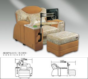 Predicure Chair, Cheap Electric Massager, Foot SPA Sofa Chair (GH-25) pictures & photos