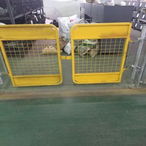 Scaffolding Safety Gate /Access Gate /Swing Gate with Yellow Color pictures & photos