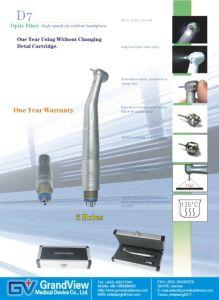 Optic Fiber High Speed Dental Handpiece