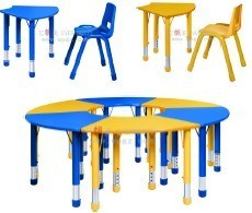 Kids Desk and Chair Tables and Chair for Kindergarten for Kids Furniture Set pictures & photos