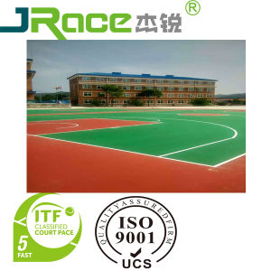 Silicon PU Outdoor Tennis Sport Courts Surface pictures & photos